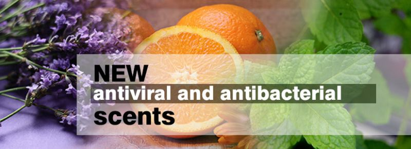 antiviral and antibacterial scents